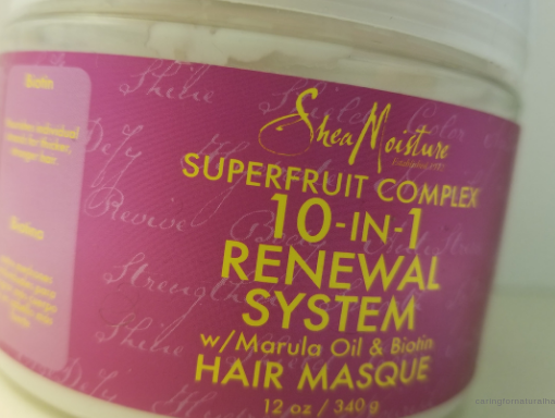 shea moisture 10-in-1 renewal system masque review