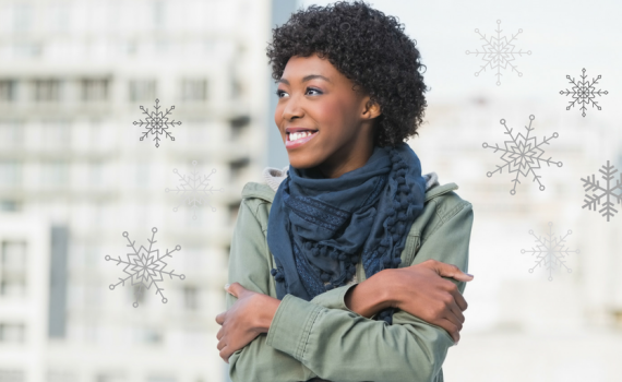 how to maintain natural hair during the winter