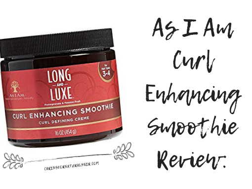 as i am curl enhancing smoothie review