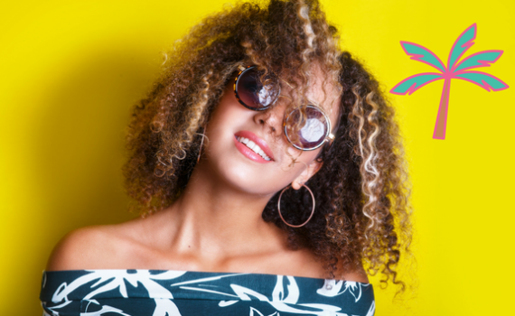 how to maintain natural hair during the summer