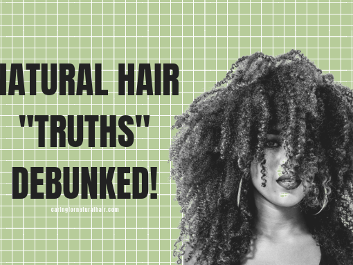 natural hair myths