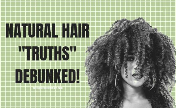 natural hair myths