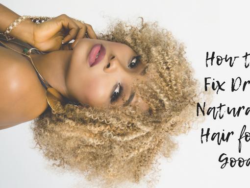 natural hair is always dry