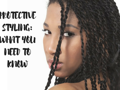caring for natural hair in protective styles