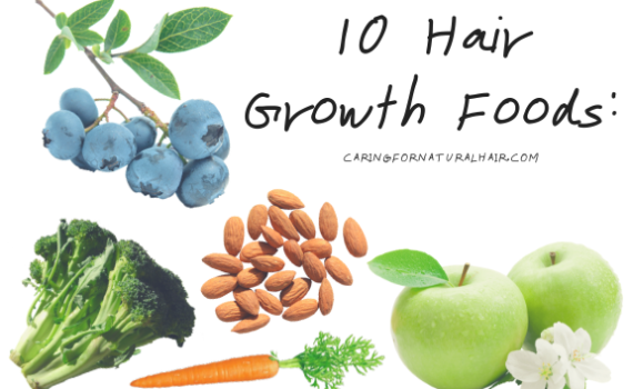 foods that promote healthy hair growth