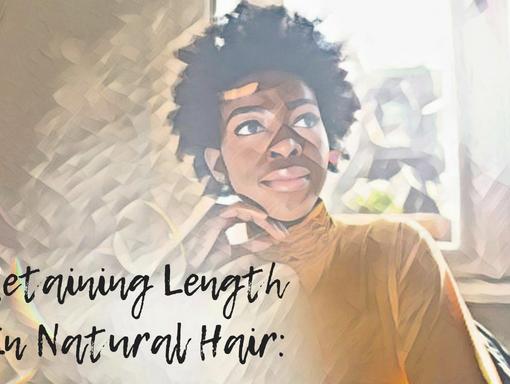 retaining length natural hair