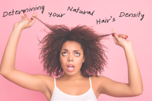 natural hair density