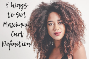 how to get maximum curl definition
