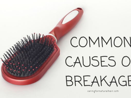causes of breakage in natural hair