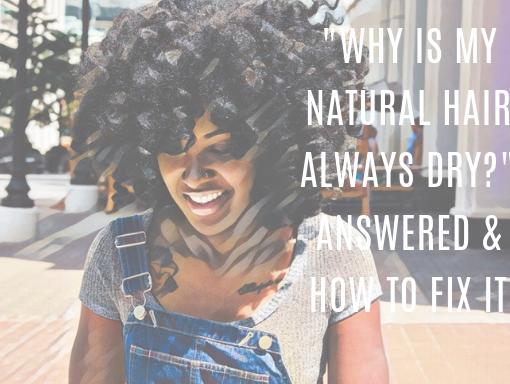 natural hair always dry