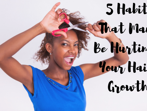 habits that hurt hair growth