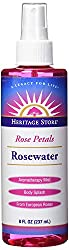 rosewater for hair